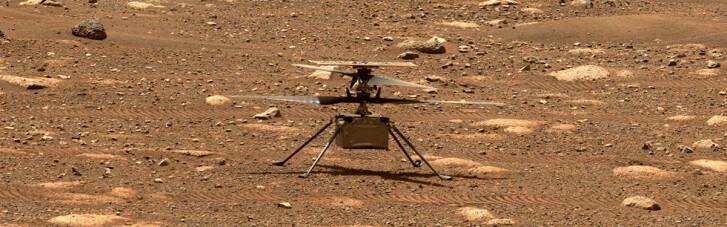 Четвертий політ вертольота на Марсі не відбувся