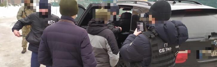 Сотрудника СБУ задержали по подозрению в похищении и вымогательстве (ФОТО)