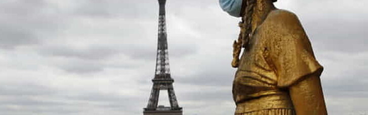 Мінімум на місяць: Францію закривають на локдаун та комендантську годину