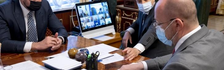 Зеленський хоче домовитися про виробництво COVID-вакцин в Україні
