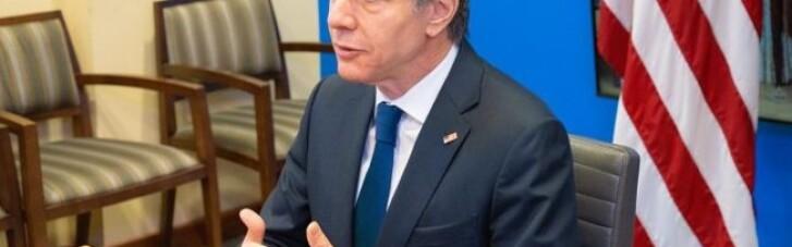 Блінкен знову їде до Брюсселю, щоб обговорити російські війська на українському кордоні, — ЗМІ