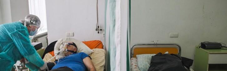 """""""Жизнь и смерть рядом, разделенные занавеской"""": уникальные фото с COVID-больницы в Коломые"""