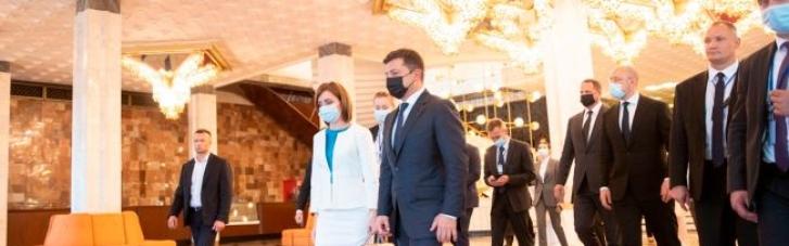 Зеленський поговорив з Санду про перспективи повернення українських енергокомпаній в Молдову