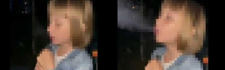 Моя школа! В Харкові тітка навчила 7-річну племінницю курити кальян (ВІДЕО)