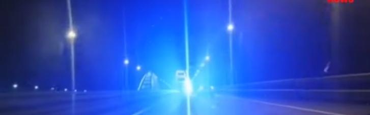Водії пророкують масові ДТП на Керченському мості через нове освітлення (ВІДЕО)