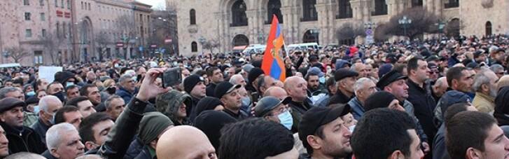 Протесты в Армении: Минобороны сделало заявление