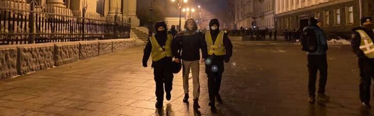 Поліція затримала понад 10 прихильників Стерненка, — нардеп (ФОТО, ВІДЕО)