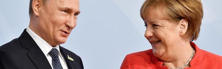 Путін і Меркель обговорили ескалацію конфлікту на Донбасі