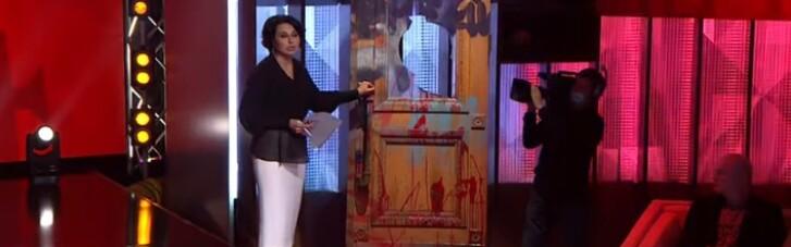 Стало известно, сколько телеканал Коломойского заплатил за разбитые двери ОПУ