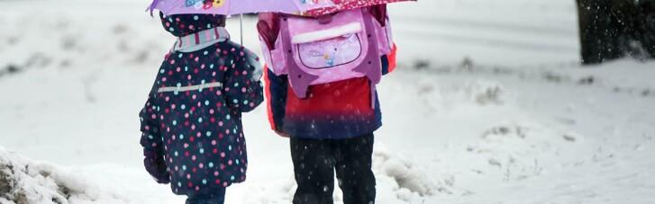 В Ужгороде из-за непогоды закроют школы