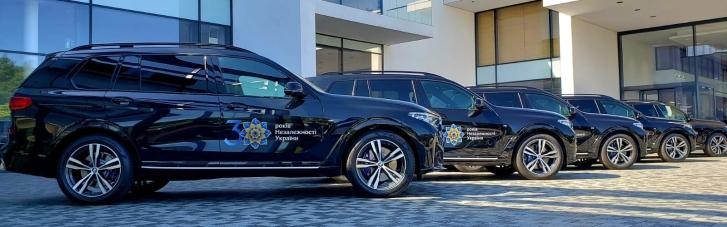 Держохорона орендує понад 30 автомобілів BMW до Дня незалежності