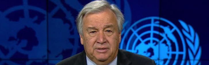 Генсек ООН виступив зі зверненням до Ізраїлю і Палестини