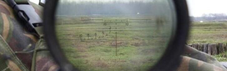 """В районі Світлодарська по позиціях ООС """"працював"""" снайпер"""