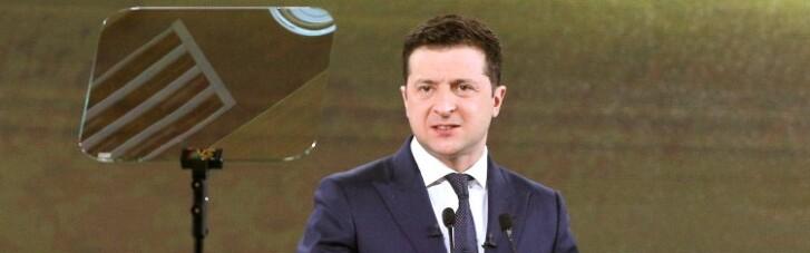 Рейтинг Зеленского за последний месяц поднялся на 4 процентных пункта