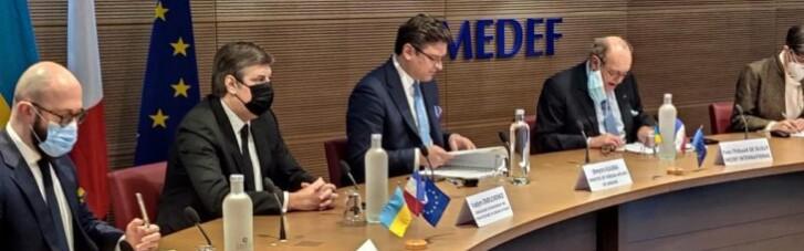 """Украина хочет привлечь французский бизнес к приватизации и """"Большому строительству"""""""