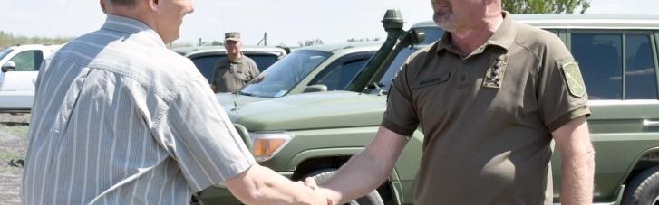 Американська делегація відвідала Донбас (ФОТО)