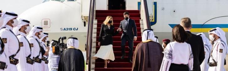 Зеленський прибув до Катару