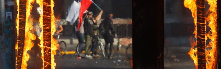 Наследники Пиночета. Почему чилийцы за 4 цента разгромили половину метро Сантьяго