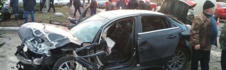 У Торецьку зіштовхнулися два легковики: водії загинули, ще троє людей у лікарні