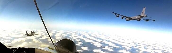 Сдерживание России. Американские бомбардировщики В-52 будут регулярно патрулировать в небе над Украиной