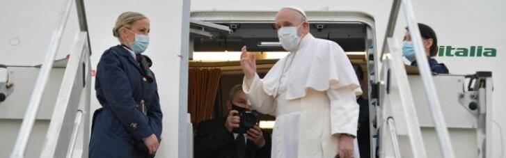 Папа Римський уперше в історії прибув до Іраку (ВІДЕО)
