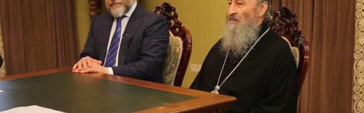 """""""Слуга"""" Качура розповів, навіщо пішов у """"релігійне"""" об'єднання з Новинським"""