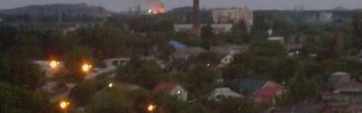 """Відповідь ВСУ. Як """"гасили"""" вогневі точки бойовиків в Донецьку (КАРТА)"""