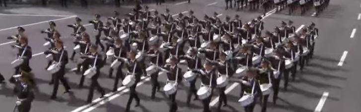 Военный парад ко Дню Независимости Украины (ВИДЕО)