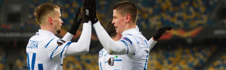 """Ліга Європи: """"Динамо"""" мінімально обіграло """"Брюгге"""""""