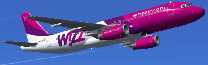 Слідом за AirBaltic: літак Wizzair полетів з Києва до Таллінна, оминаючи Білорусь (КАРТА)