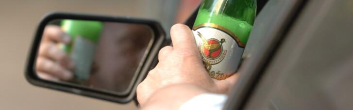 Рада посилила покарання за п'яну їзду та інші порушення ПДР