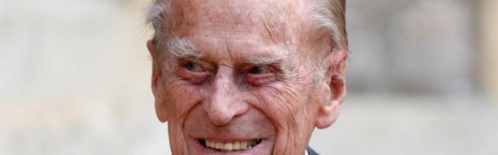Помер чоловік британської королеви Єлизавети II