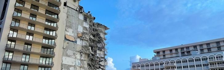 З-під завалів будинку в Маямі дістали ще 10 тіл: загиблих вже 46