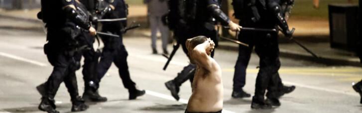 Беспорядки в Сербии. Кому привиделись украинские наемники среди демонстрантов