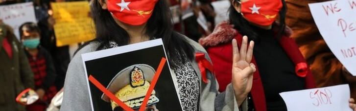 Криваві протести у М'янмі: за день хунта вбила більше 100 людей (ФОТО, ВІДЕО)