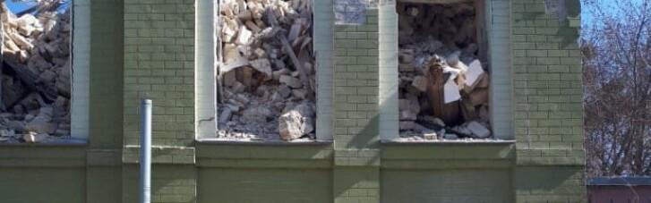 У Києві зруйнували історичну будівлю: відкрито провадження (ФОТО)