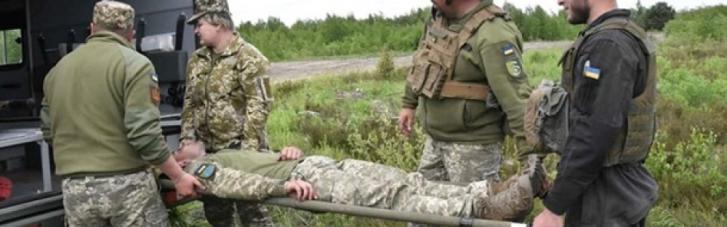 На Луганщине украинский военный получил ранение