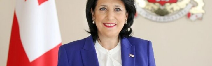 Президент Грузії виступила на підтримку України перед обличчям агресії РФ