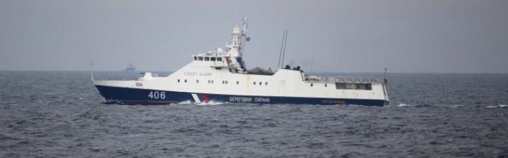 Російські кораблі біля Одеси перешкоджали спільним навчанням України та США (ФОТО)