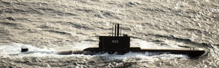 В Індонезії зник підводний човен: запас кисню там вичерпався