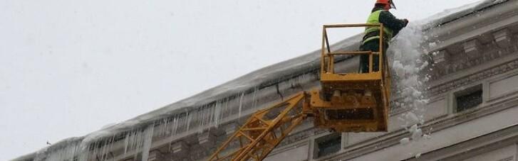 У центрі Львова брила льоду скалічила 20-річну студентку