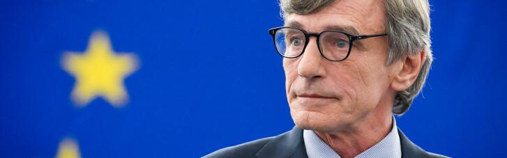 """""""Загрози не змусять нас замовкнути"""": глава Європарламенту відреагував на російські санкції"""