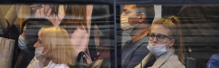 Рада дозволила штрафувати тих, хто не носить маску у транспорті