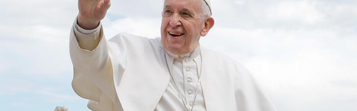 Папа Римський згадав про Україну у великодньому посланні
