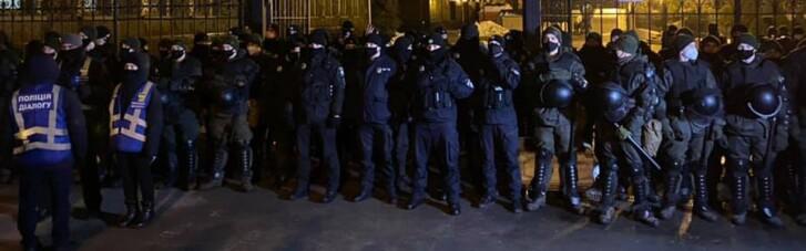 Акция в поддержку Стерненко: полиция и Нацгвардия стягивают силы к ОП