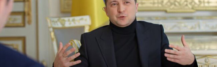 Укус Порошенко, Байден и мама для мамонтенка. Метаморфозы Зеленского в интервью для НВО
