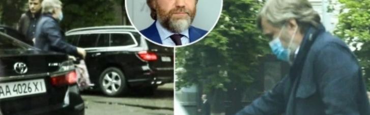"""Нардеп Новинський """"крадькома"""" відвідував Офіс президента, - ЗМІ (ВІДЕО)"""