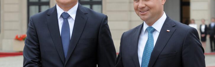 """Дуда и Науседа поддержали Украину и хотят реформировать программу """"Восточного партнерства"""""""
