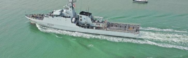 В Черное море вошел британский военный корабль: напрявляется в Одессу (ВИДЕО)
