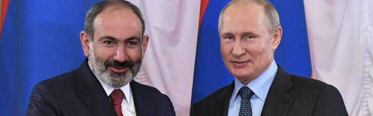 Пашинян просить Путіна надати Вірменії військову допомогу